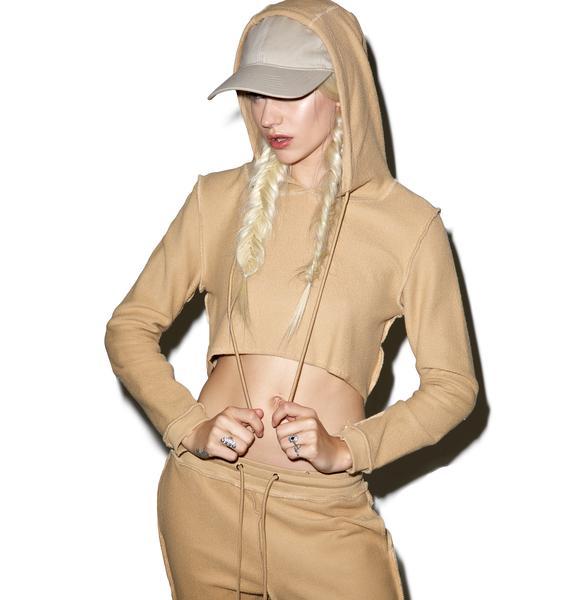 Danielle Guizio DG Camel Sweatsuit
