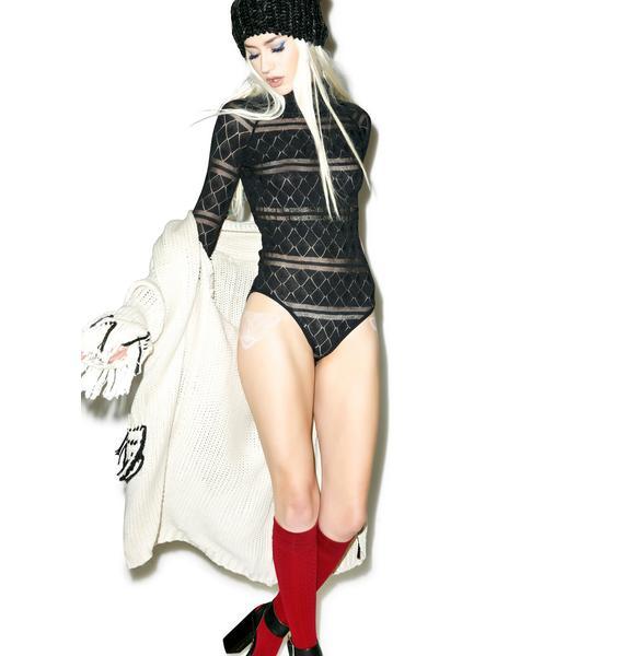 For Love & Lemons Stevie Knit Bodysuit