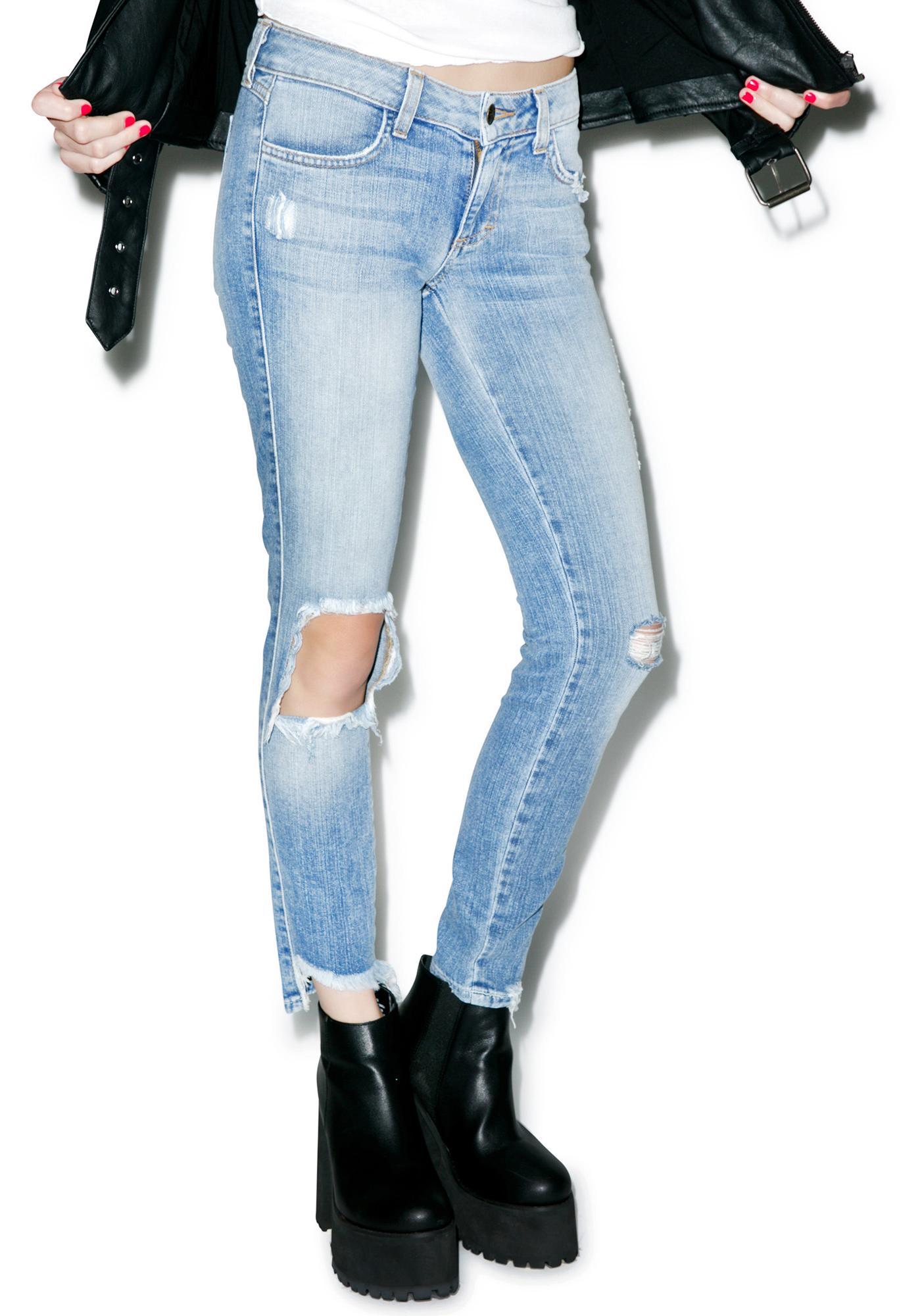 SIWY Denim Hannah Addicting Slim Crop Jeans