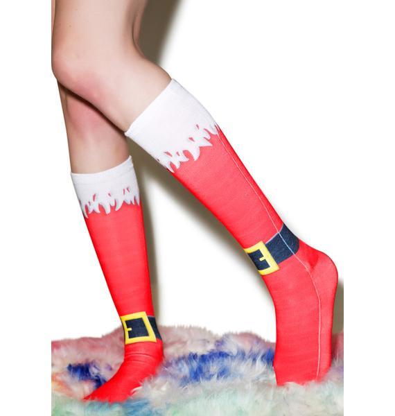Santa Babe Socks