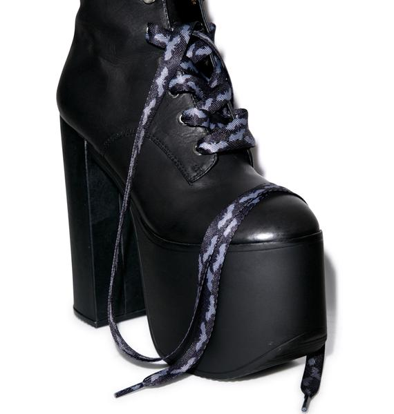 Sourpuss Clothing Bats Laces