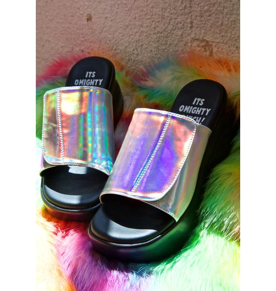 O Mighty Hologram Babygirl Platforms