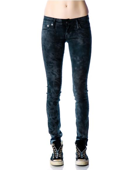 Vegan Suede Junkie Fit Jeans