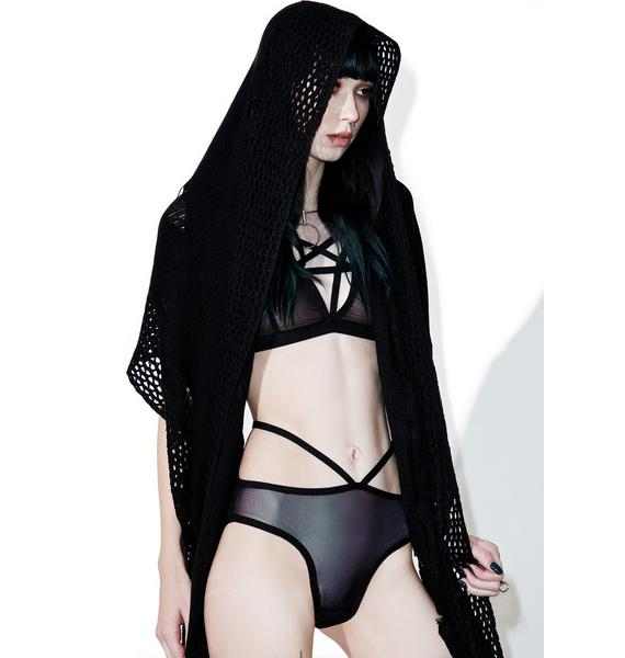 Killstar No Sleep Mesh Panty