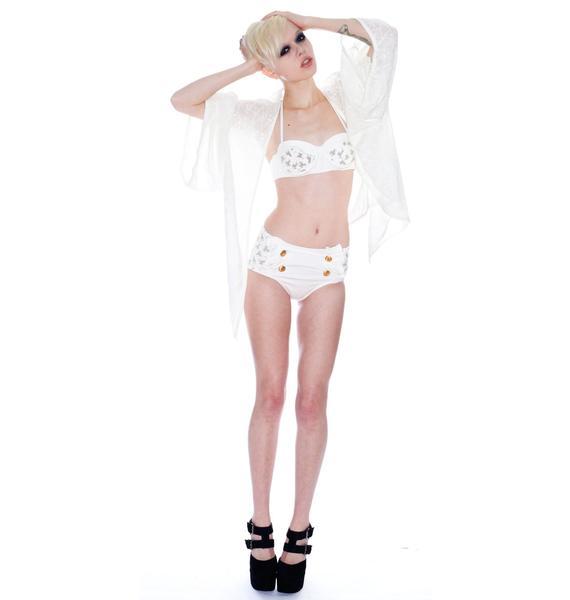 Wildfox Couture Sinatra Cowgirl Denim Bikini