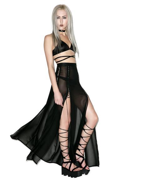 Cult Kiss Maxi Skirt