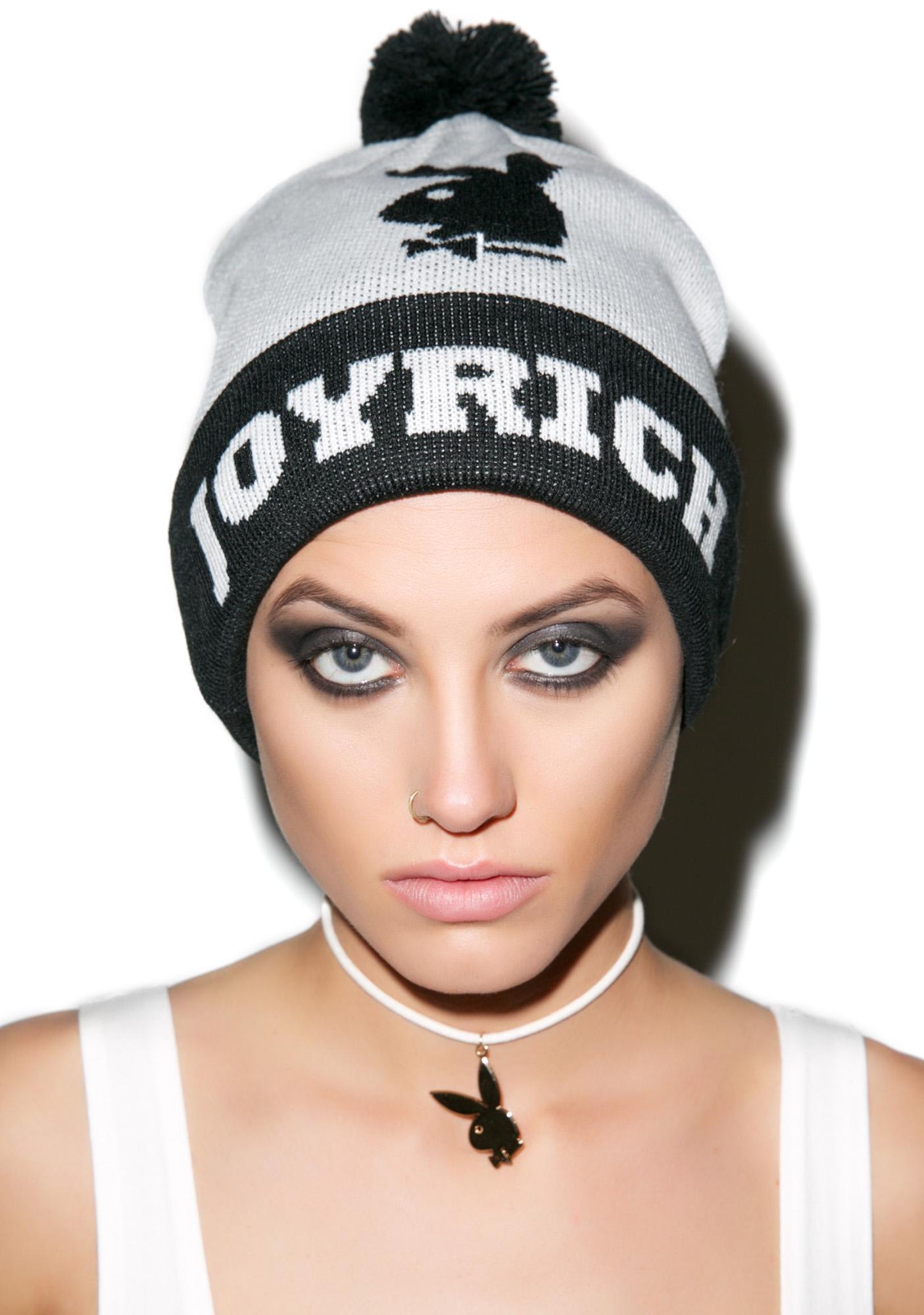 Joyrich X Playboy Pom Pom Beanie