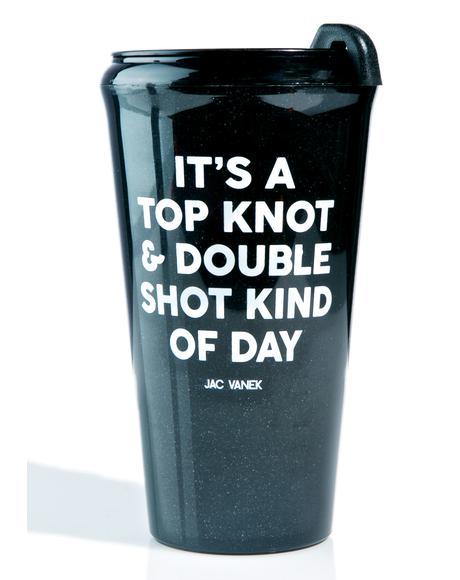 Top Knot Travel Mug