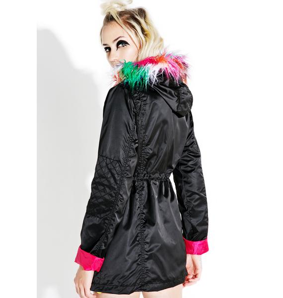 Current Mood Rise Above Hooded Parka