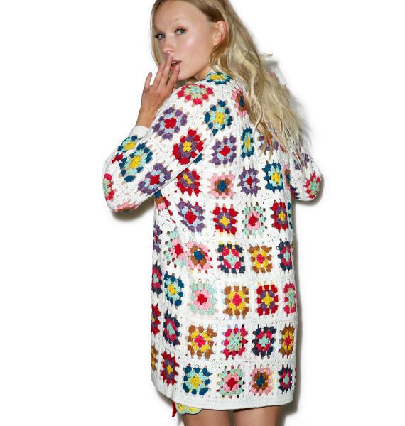 So Kitsch Crochet Cardigan