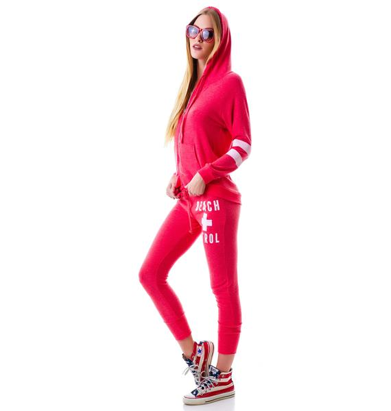 Beach Patrol Zip Up Hoodie