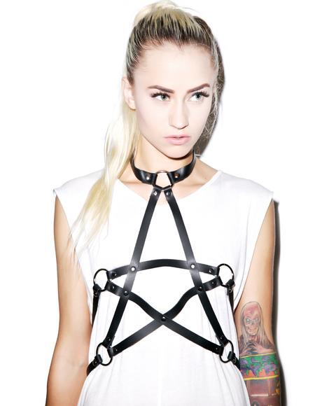 Lucifer's Loyal Pet Pentagram Harness