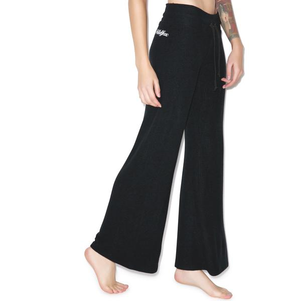 Wildfox Couture Scripted Wildfox Baggy Beach Pant