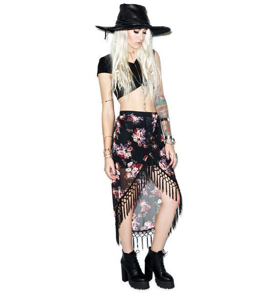 Rise of Dawn Gypsy Dancer Tassel Skirt