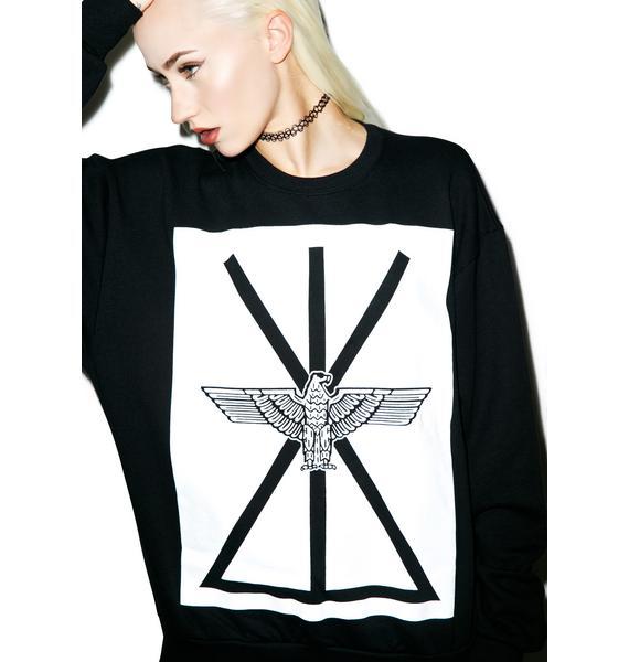 BOY London Union Eagle Standard Box Sweatshirt