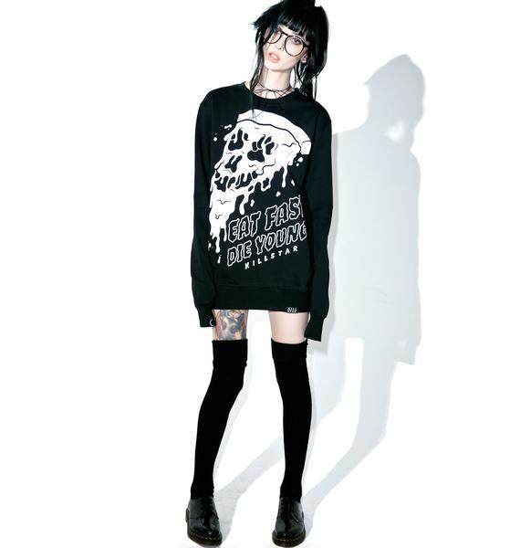 Killstar Eat Fast Sweatshirt