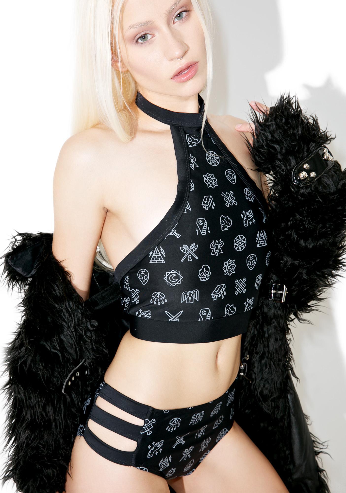 Disturbia Esoteric Bikini Set