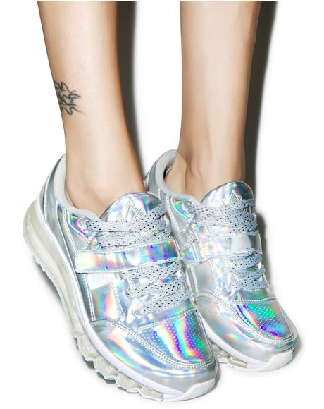 Aiire Holographic Sneaker