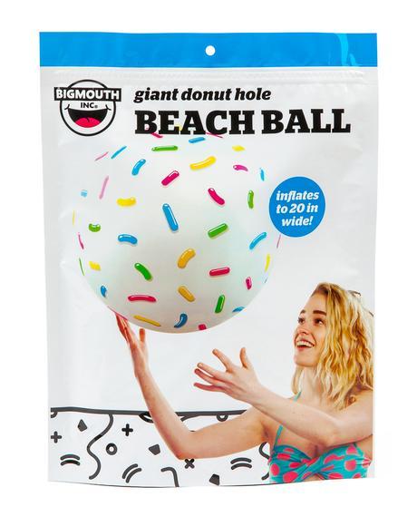 Munchkinz Donut Beach Ball