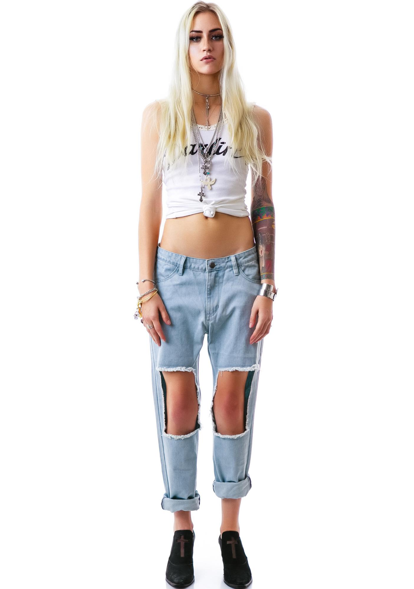 Evil Twin Roughed Up Low Rider Denim