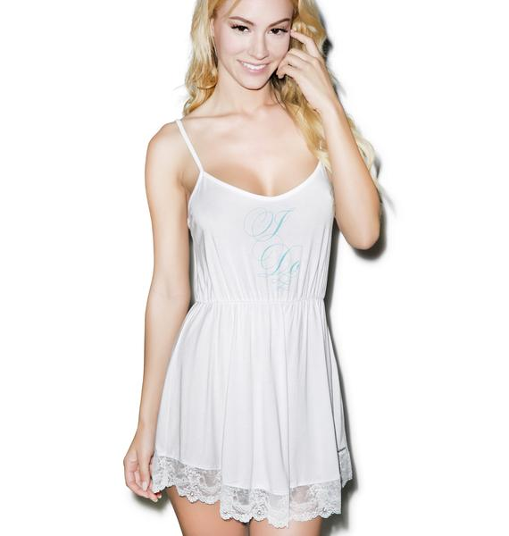 Wildfox Couture I Do Lace Chemise