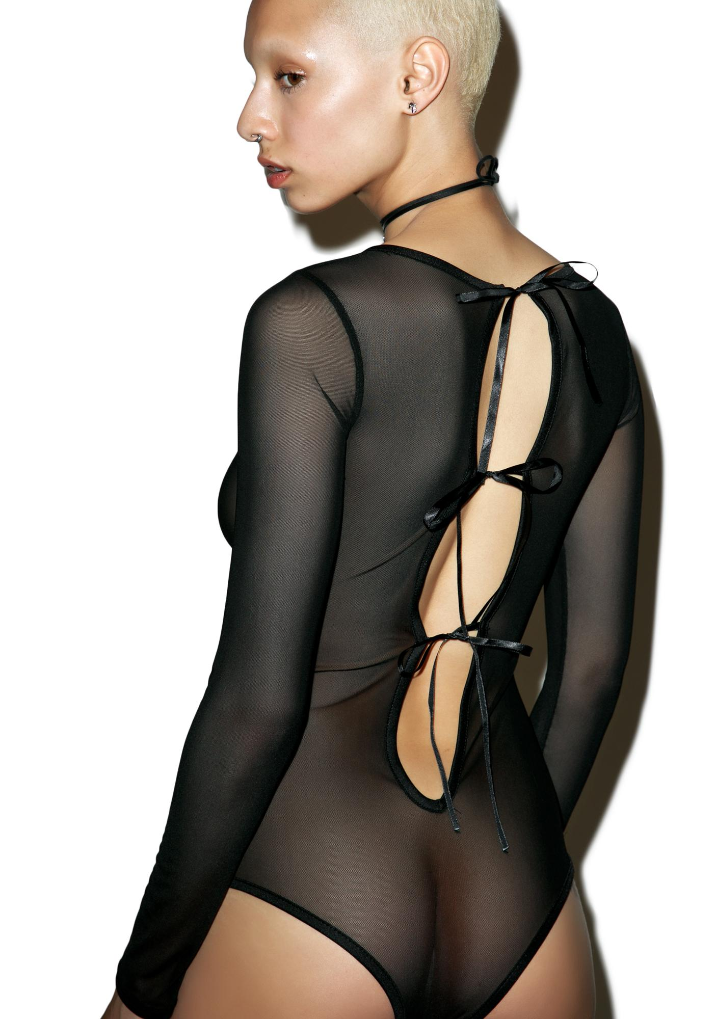Night Watch Mesh Bodysuit