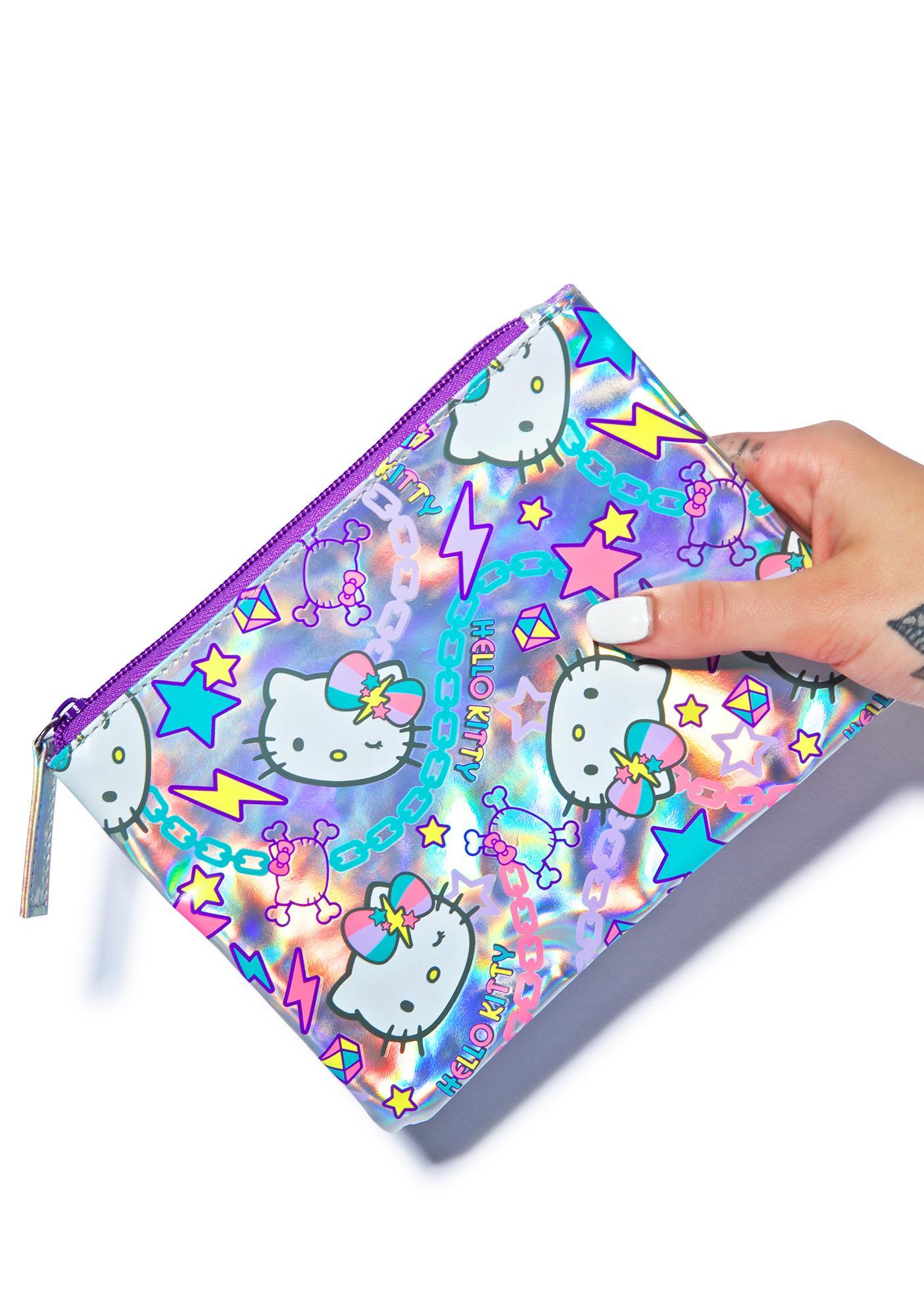 Sanrio Hello Kitty Pastel Pop Cosmetic Case