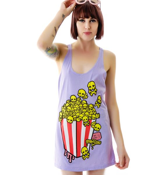 Skully Popcorn Tank