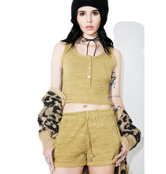 Lili Ribbed Shorts