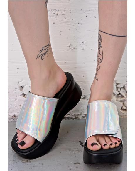 Hologram Babygirl Platforms