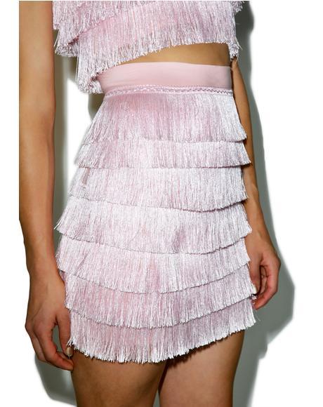 Daydreamin' Fringe Skirt