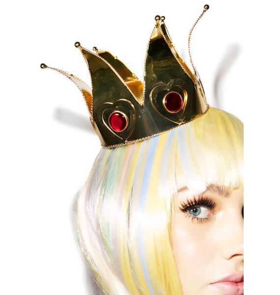 Queen Of Hearts Mini Crown