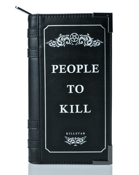 Kill List Book Wallet