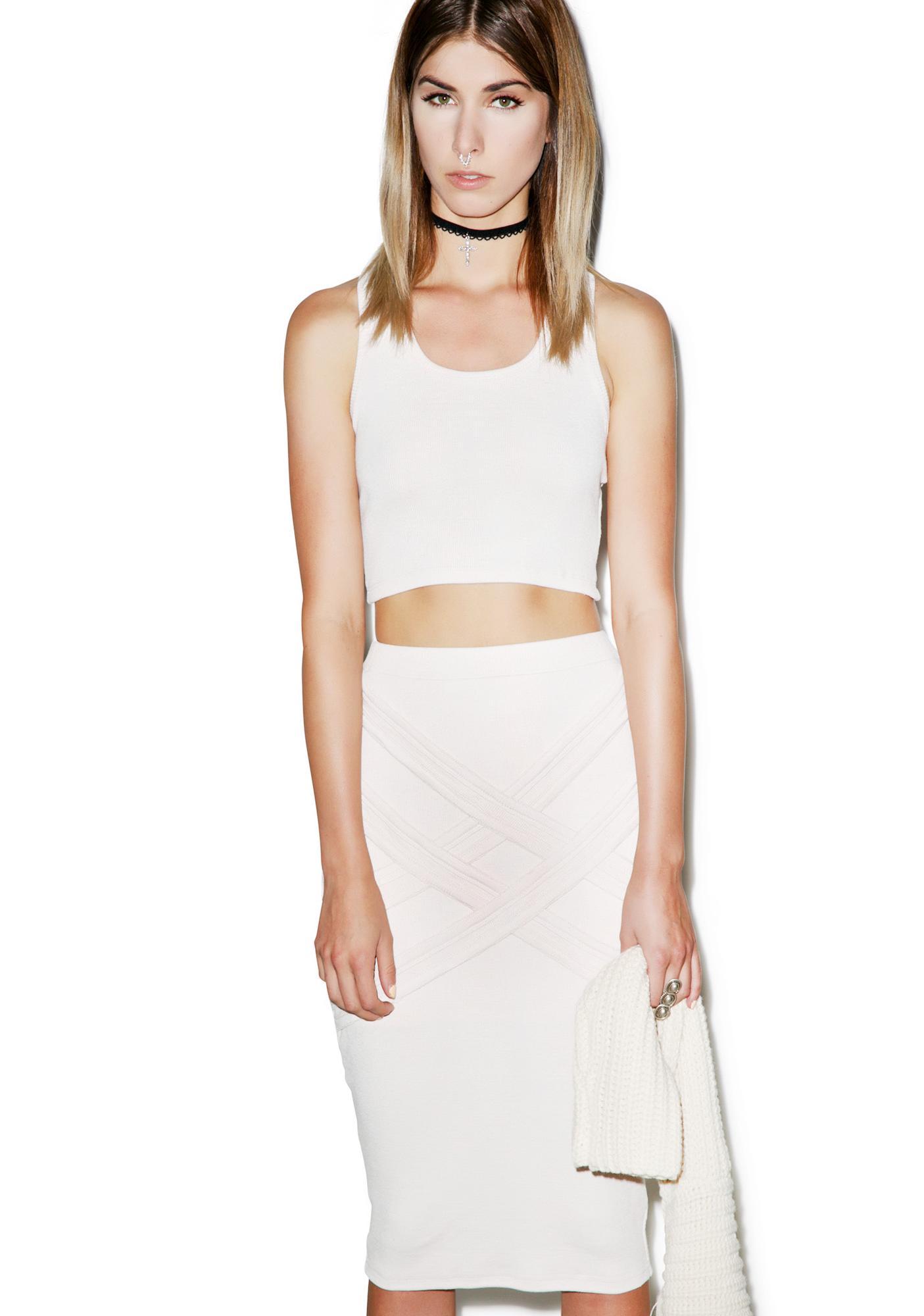 Nefertiti Rib Skirt