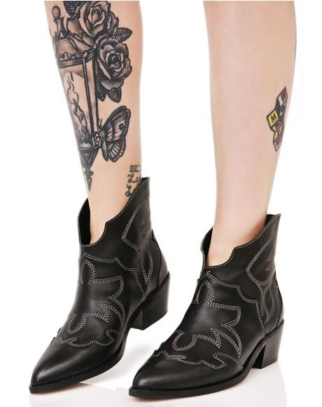 Fiona Western Boots