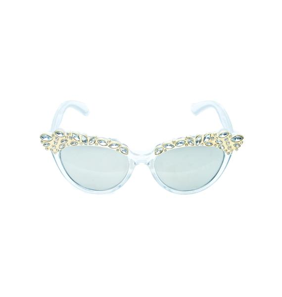 Ice Queen Cat Eye Sunglasses