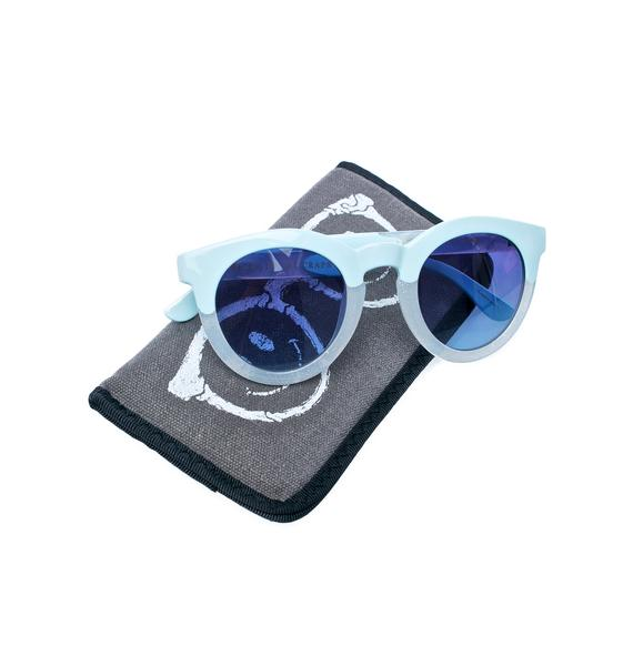 Crap Eyewear The Tru Blue TV Eye Sunglasses