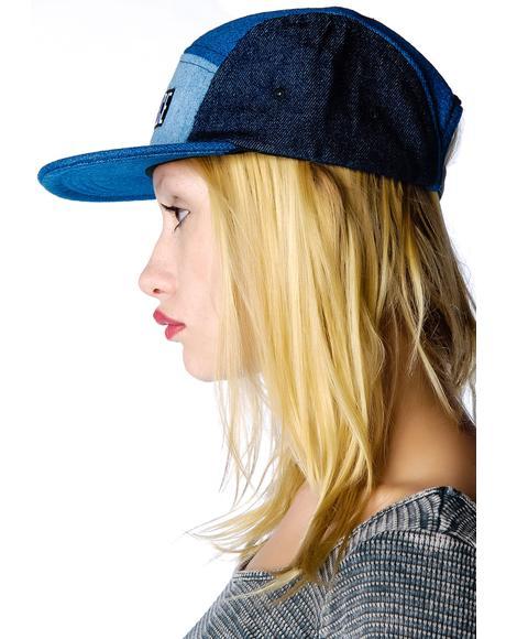 4 Way Denim Hat