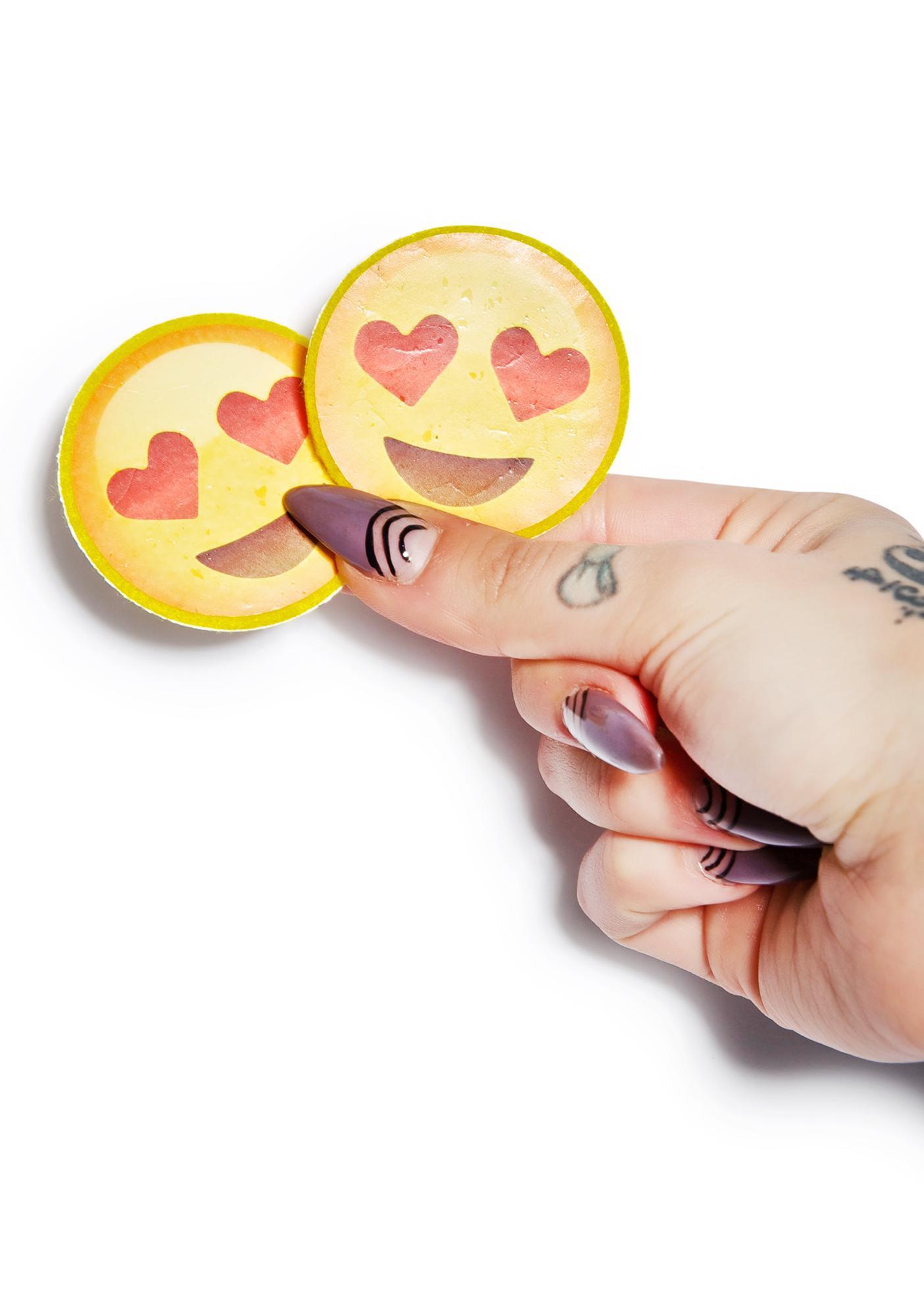 Heart Eyes Emoji Pasties