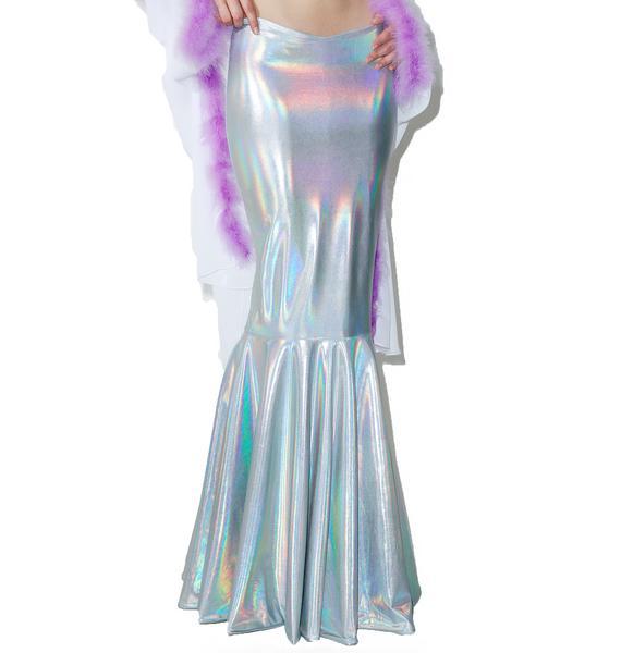 Sparkl Mermaid Glamour Reversible Skirt