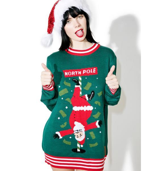 Tipsy Elves North Pole Dancer Sweater