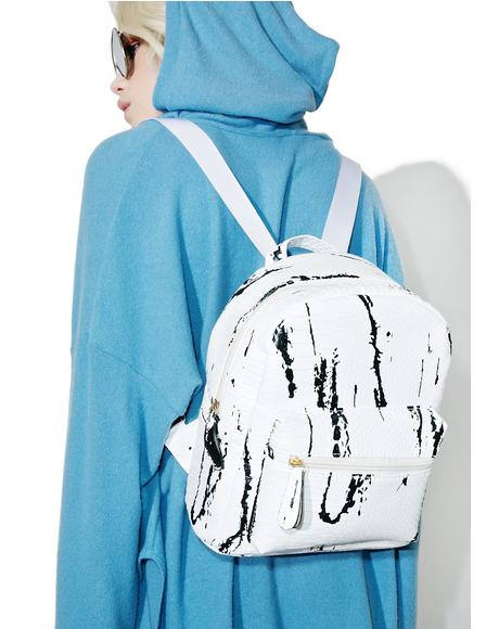 Stone Cold Marble Backpack