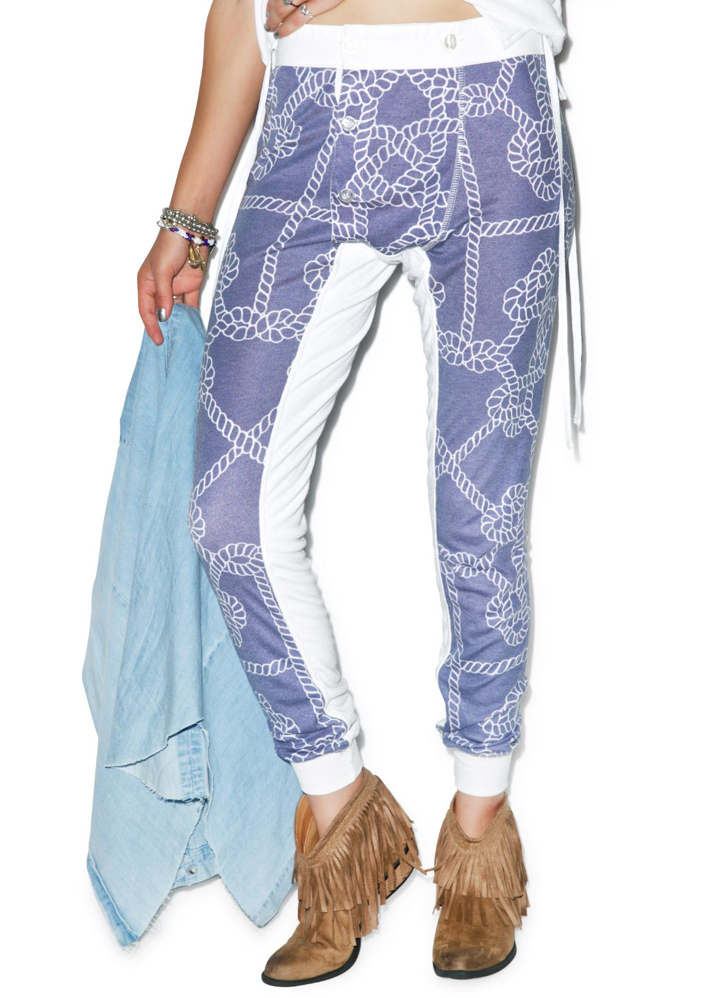 Wildfox Couture Harbor Knot Campfire Leggings