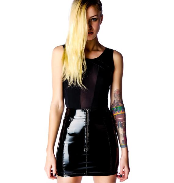 Evil Twin Prodigy Waisted Skirt