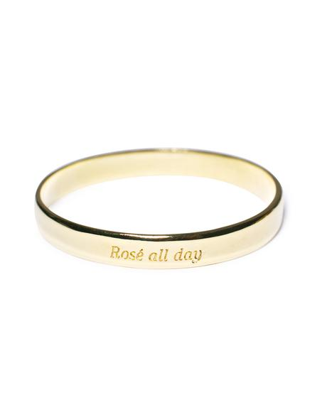 Rosé All Day Booyah Bangle