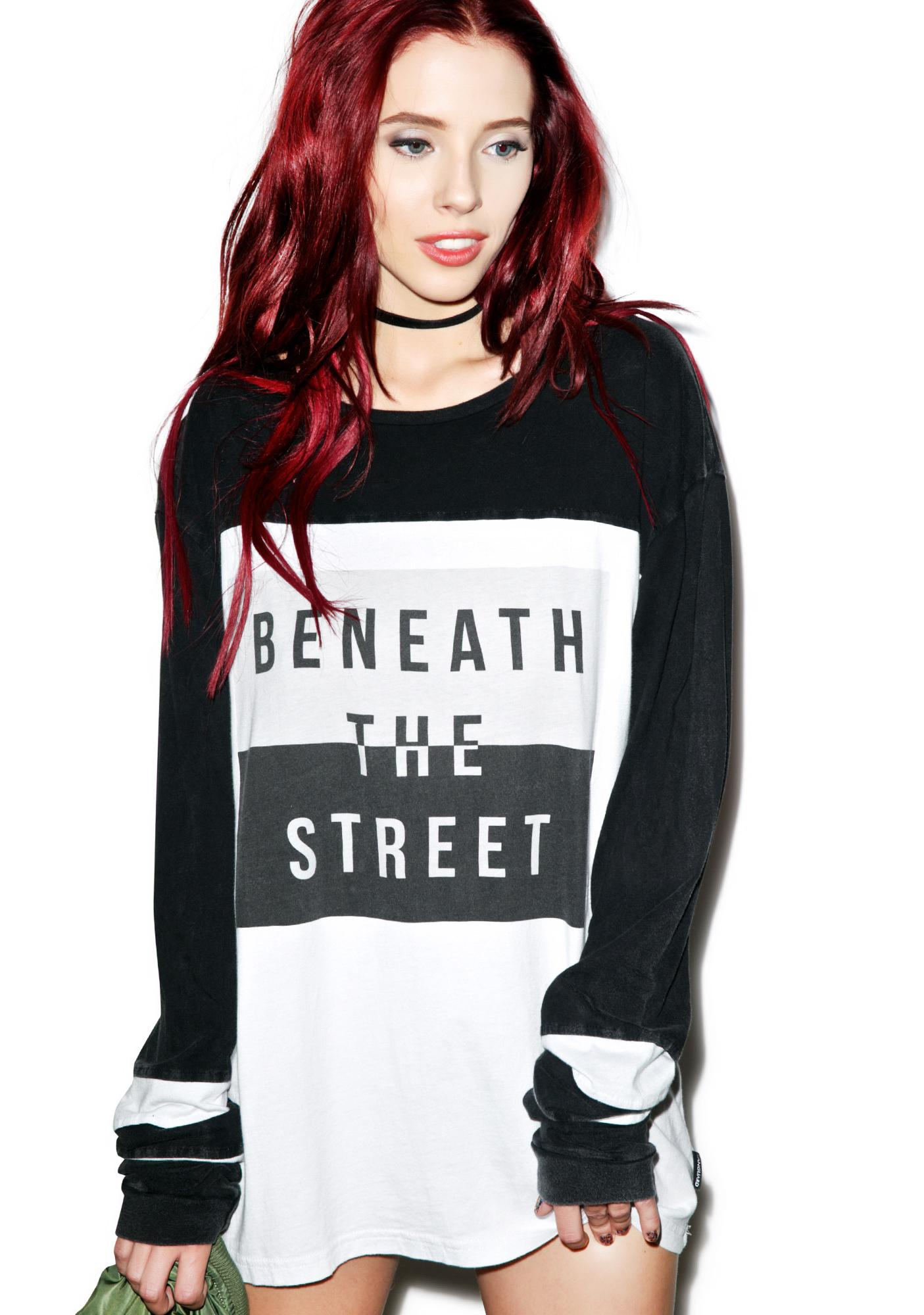 Beneath The Street Panel Tee