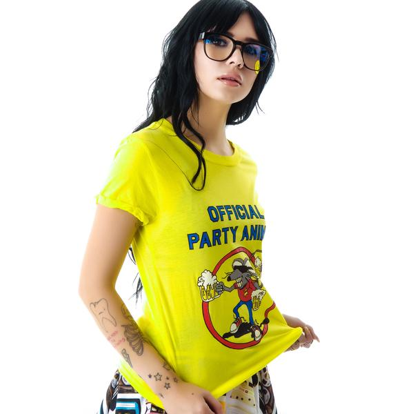 Local Celebrity Official Party Animal Tee