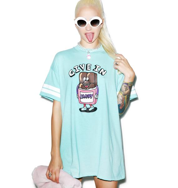 Lazy Oaf Give In Candy Tee