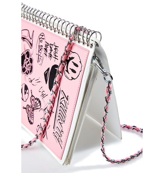 Current Mood Doodle Notebook Bag
