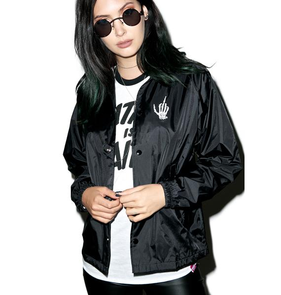Creep Street Death Dealers Coaches Jacket